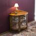 トワルドジュイの布を使って、アンティーク家具のリメイク の画像